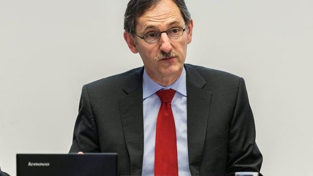 Portrait des Zürcher SP-Regierungsrats Mario Fehr