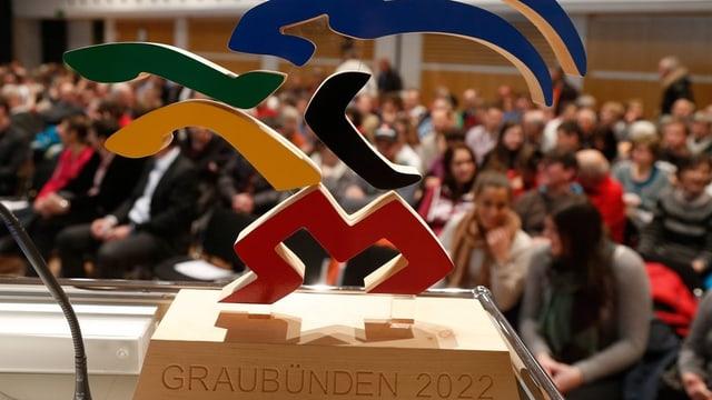 Signet der Winterspiele Graubünden 2022