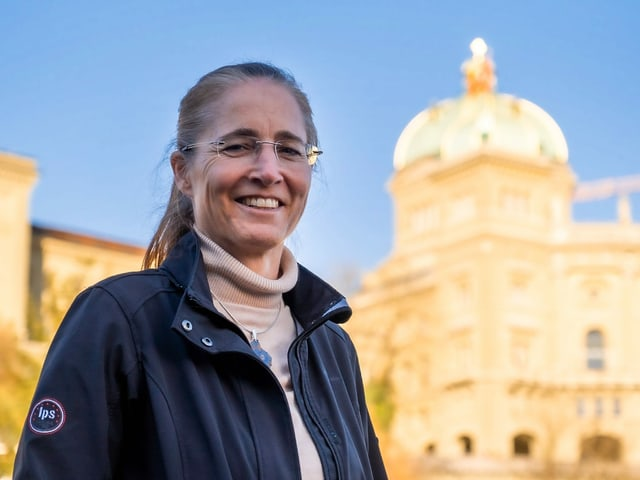 Cora Graf, la scheffa da l'Uffizi federal per ils fatgs da stadi civil