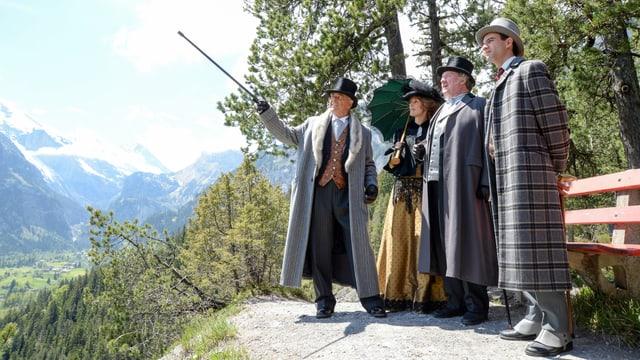 Video «Der Bundesrat in Kandersteg» abspielen