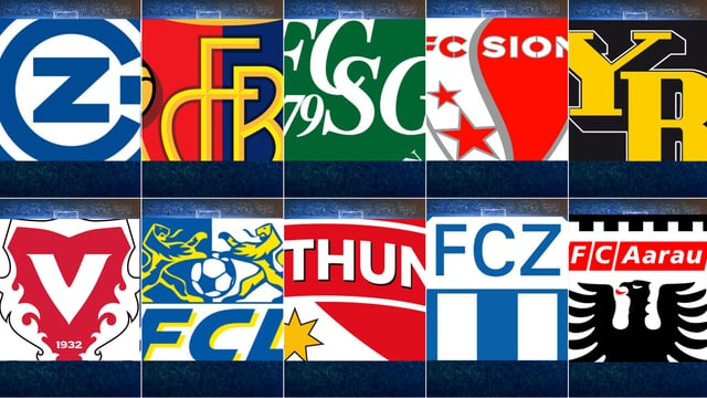 Diese 10 Teams bestreiten die neue Saison.