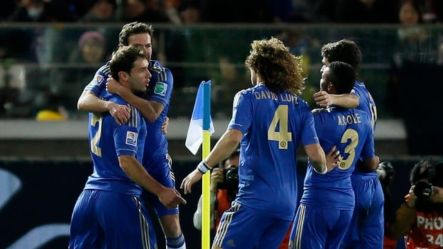 Chelsea jubelt über den Finaleinzug bei der Klub-WM.