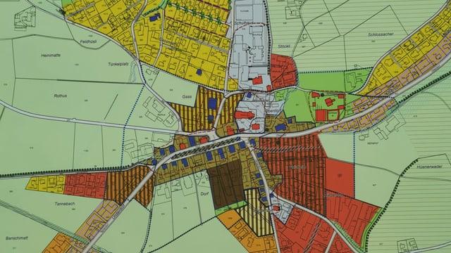 Plan von Buttisholz