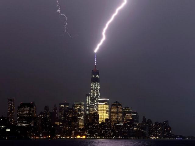 Das One World Trade Center in Manhattan.