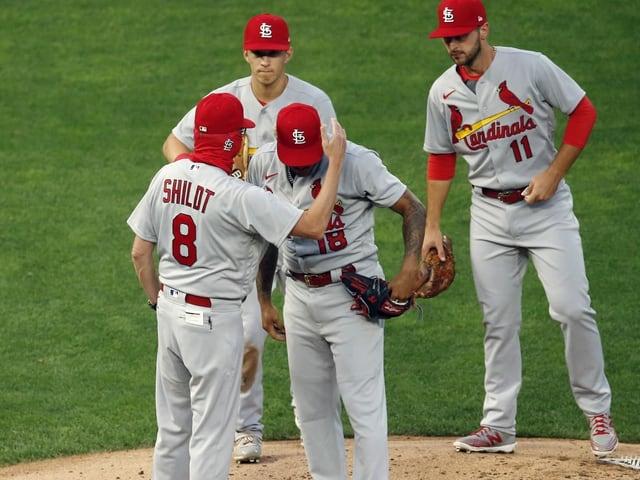 Spieler der St. Louis Cardinals.