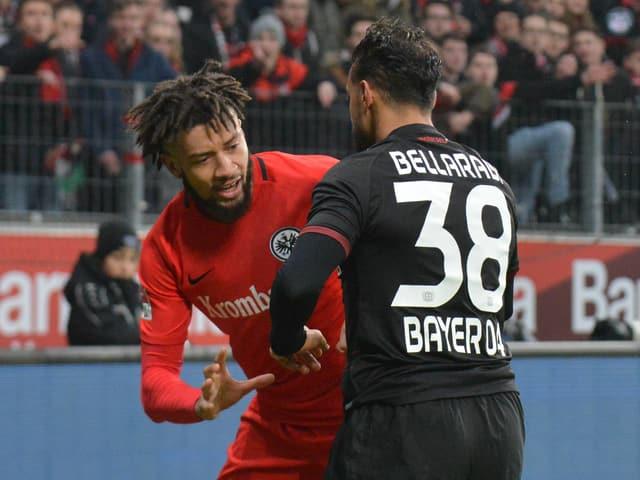 Hector und Bellarabi streiten