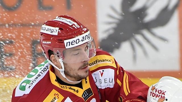 Claudio Moggi auf dem Eis.