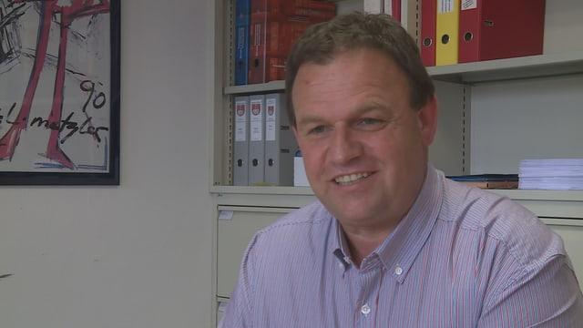 Clau Schlosser, president communal Breil