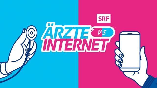 Keyvisual Ärzte VS Internet