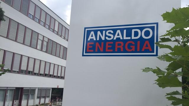 Ansaldo-Schild