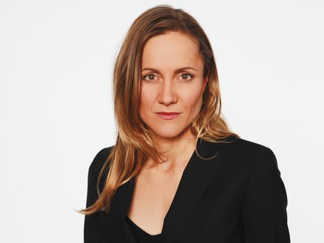 Barbara Lüthi in Nahaufnahme.