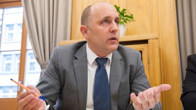 Claudio Schmid (SVP) ist seit 2003 im Zürcher Kantonsrat.