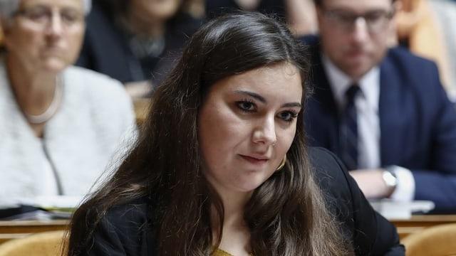 SP-Nationalrätin Samira Marti.