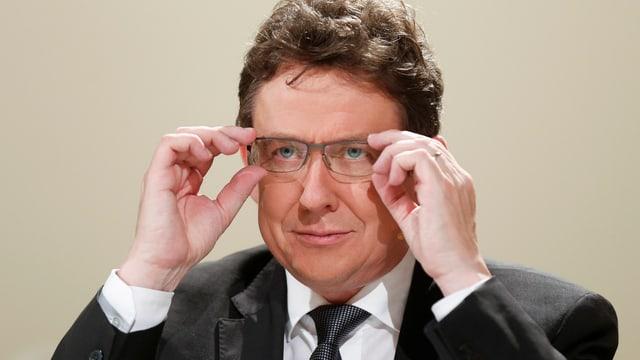 SVP-Präsident Albert Rösti.