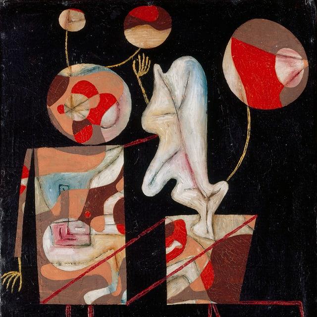 Ein surrealistisches Bild von Paul Klee