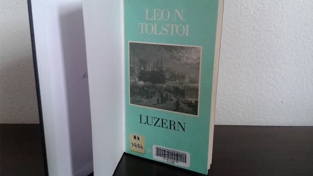 Buch mit Titel «Luzern».