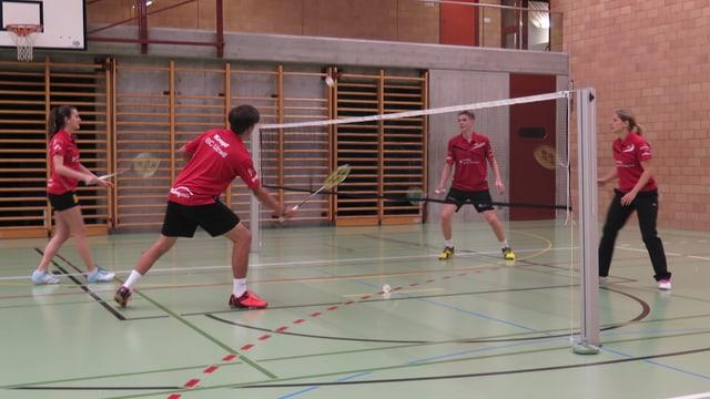 Badmintonspieler
