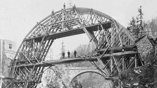 Viaduct Solis, Viafier retica