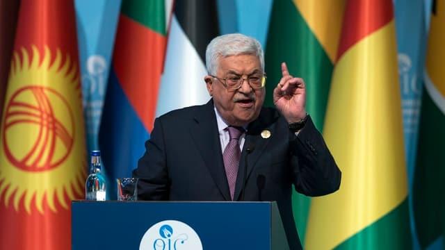President Abbas mussa il det durant conferenza da pressa.