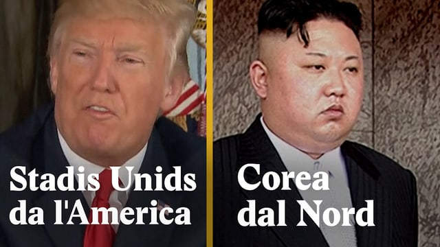 Laschar ir video «USA vs. Corea dal Nord - inimis eterns?»