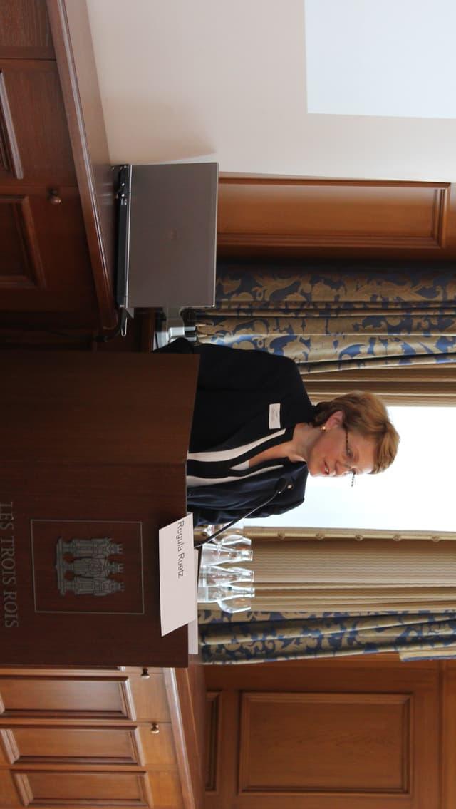 Regula Ruetz, Direktorin von Metrobasel.