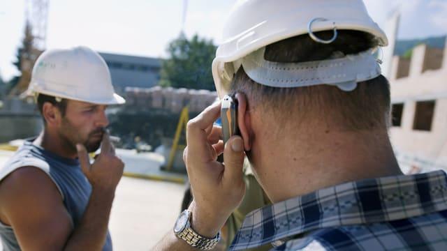 Bauarbeiten-Kontrolle