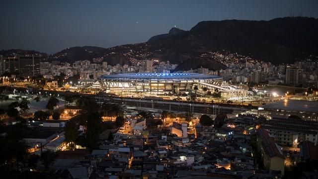 Stadion Maracanã a Rio de Janeiro.