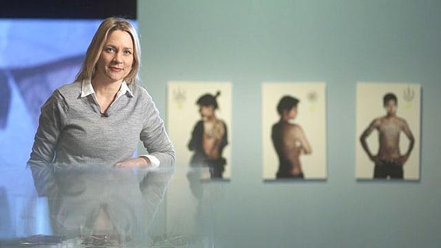 Video «Mit Eva Wannenmacher auf den Spuren der Körperkunst» abspielen