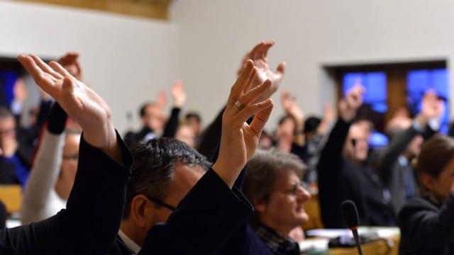 Im St. Galler Stadtparlament