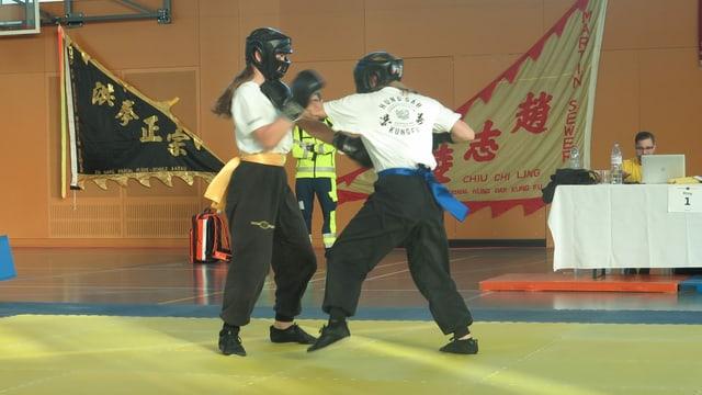 Kung Fu Kampf
