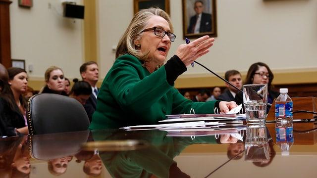 Hillary Clinton bei einem Hearing im September 2012.