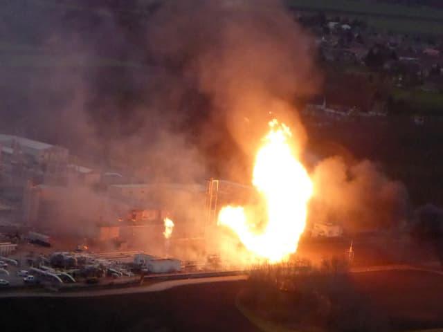 Gasexplosion.