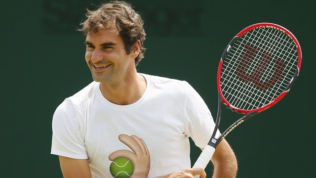 Roger Federer gewinnt auch ohne zu spielen Preise.