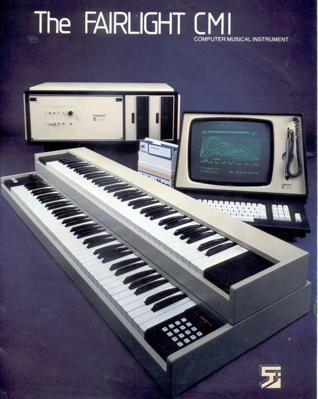 So wurde der Synthesizer und Sampler damals 1979 beworben.