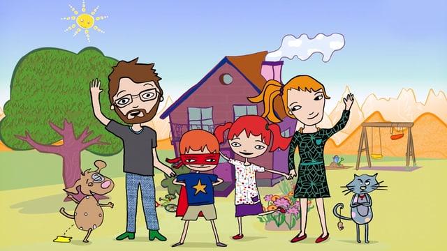 Famiglia Babulin.
