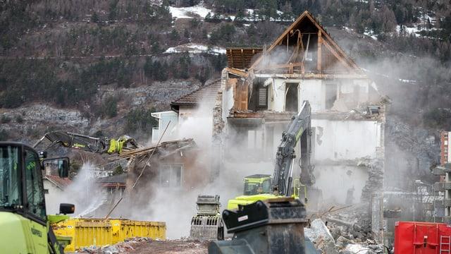 Mit Abrissprämien neuen Wohnraum schaffen. In einigen St. Galler Gemeinden hat man damit Erfolg.