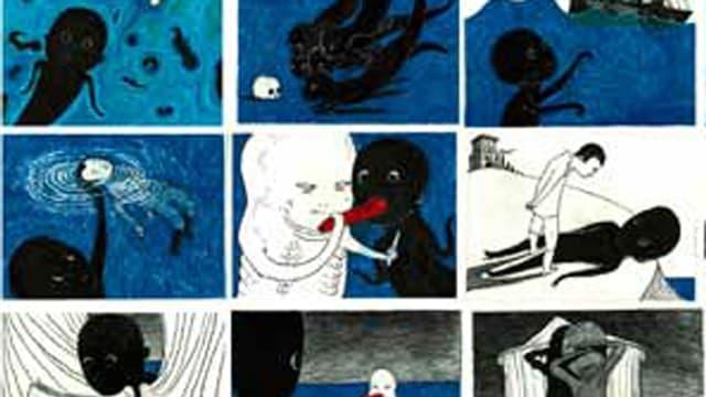 Comiczeichnungen von Anke Feuchtenberger