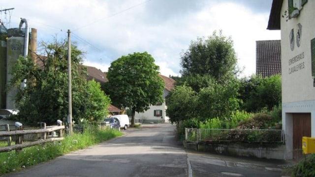 Ortsansicht von Clavaleyres