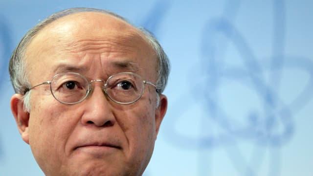 Kopf des IAEA-Chefs Amano