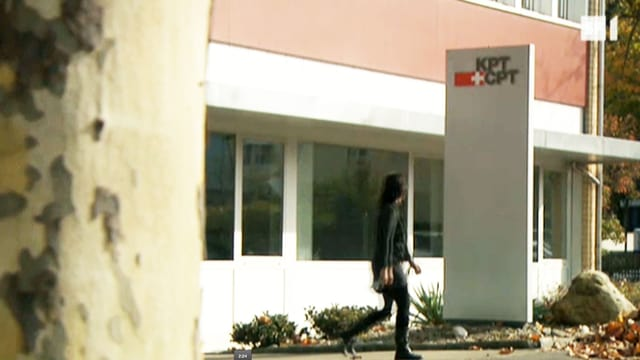 Der KPT-Hauptsitz in Bern