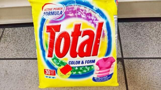 Waschmittel Total von Migros.