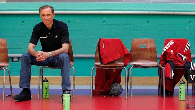 Arno Ehret sitzt neu auf der GC-Trainerbank.