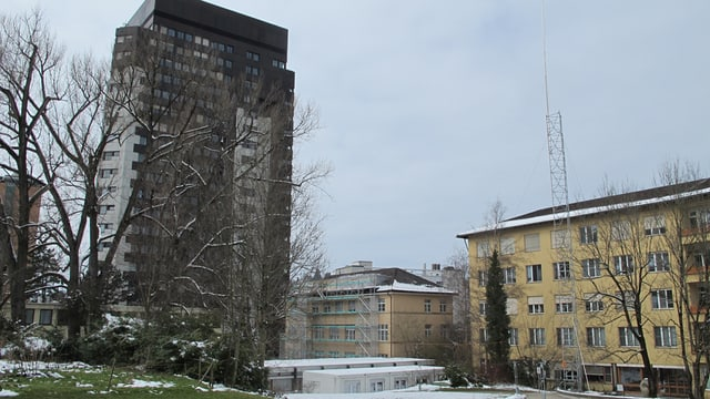 Baustelle St.Gallen Spital