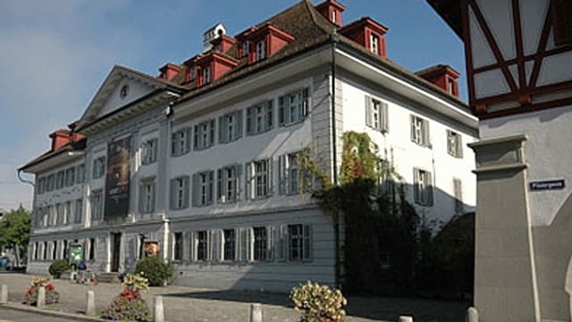 Naturmuseum Luzern von aussen.