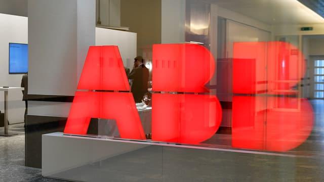 Il logo dal concern svizzer ABB.