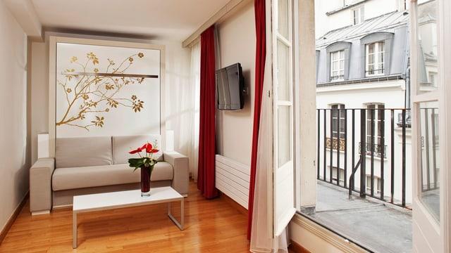 Interieur einer Luxuswohnung