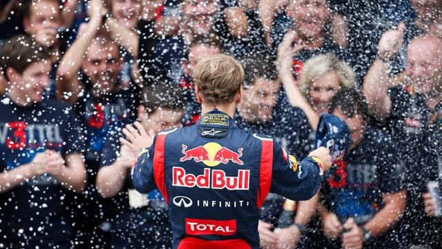 «Wahrer Champion mit kühlem Kopf»: Sebastian Vettel.