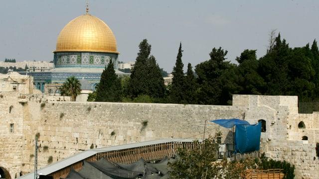 Il crap da da stgarpitsch: il Munt dal Tempel a Jerusalem.