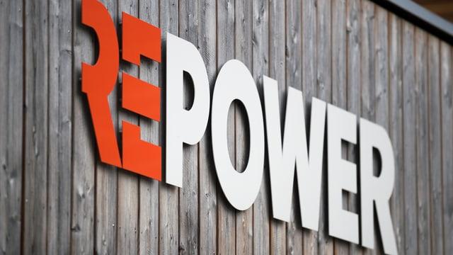 Purtret dal logo da la Repower.