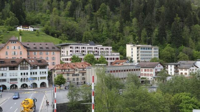 L'ospital regiunal Surselva a Glion.